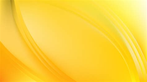 yellow wave background template
