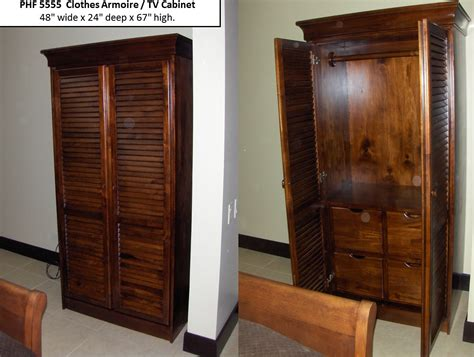 Wardrobe Cabinet Home Depot: Phf 5555 Armoire Tv Cabinet