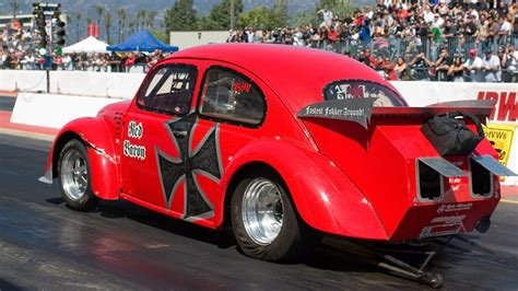 beastly vw bug drag racing  spec motorsports outlaw turbo