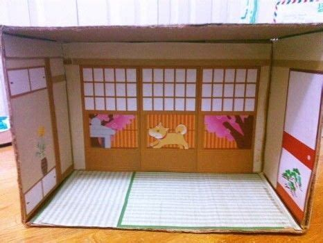 japanese paper house diorama  dolls house decorating