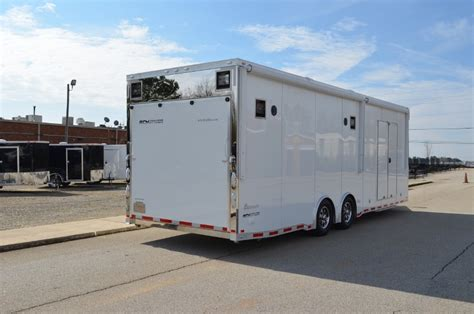 28' Intech Trailers Custom Aluminum Race Car Trailer