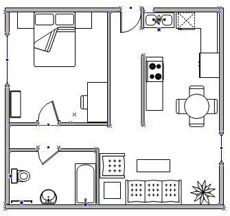 create  home plan visio
