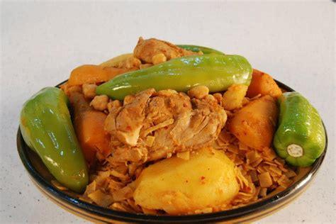 la cuisine tunisienne cuisine tunisienne recette nwasser au poulet cuisine