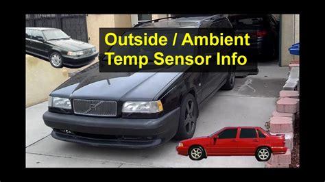 ambient temperature sensor location   volvo