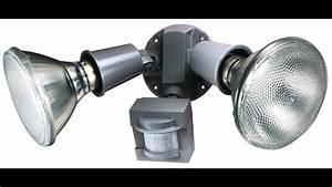 Motion Sensor Light Installation