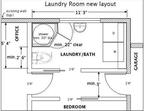 8x8 Bathroom With Washer Dryer Layout by 25 Best Ideas About Laundry Room Layouts On Pinterest