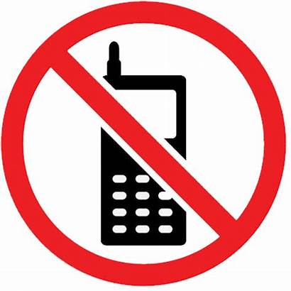Cell Phone Mobile Sign Allowed Clipart Cellphone