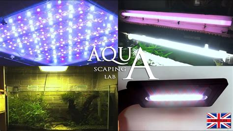 Aquascape Lights by Aquascaping Lab Aquarium Lighting Neon Or Led