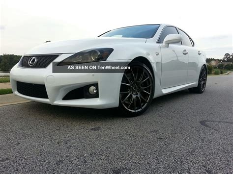 lexus sedan 2012 2012 lexus is f base sedan 4 door 5 0l
