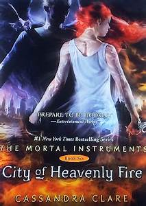 Finally, the Cover to CITY OF HEAVENLY FIRE is Revealed ...