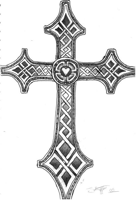 celtic cross | celtric inspired cross tattoo 25 Plead Cross Tattoos For Men | Tattoo | Cross