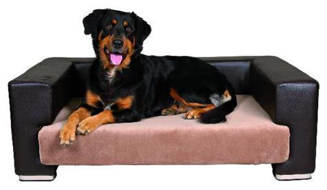 canape de luxe quot paolo quot brun creme panier lit couchage corbeilles tissus pour chiens en vente