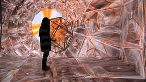Tesseract  3d Interactive Video Installation Documentation