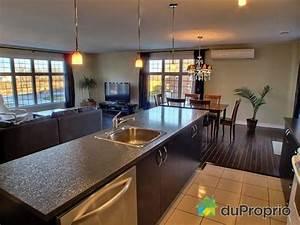 decoration salon cuisine aire ouverte With cuisine et salon aire ouverte