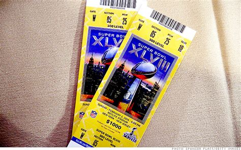 Super Bowl Ticket Up Due To Warmer Forecasts Jan 31 2014