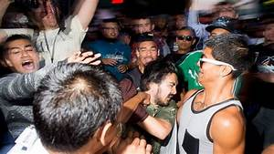 Violence Breaks Out at Trump Rally in San Jose, Protesters ...
