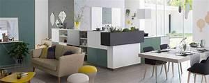 Cuisines modernes meubles de salle de bains rangements for Cuisine avec salle a manger intégrée pour petite cuisine Équipée