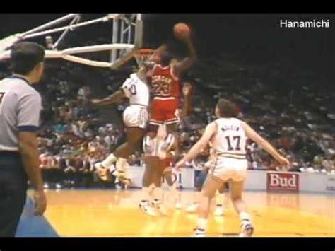 Michael Jordan's Top 23 Dunks By Fan Vote Youtube