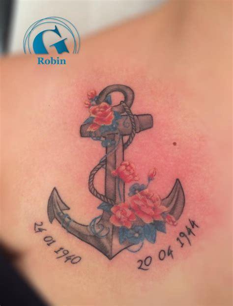 tatouage ancre marine tatouage ancre marine graphicaderme