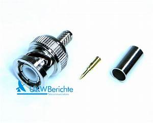 Stecker Für Kabel : bnc stecker f r kabel aircell 5 crimp der online shop von ukw berichte ~ Eleganceandgraceweddings.com Haus und Dekorationen