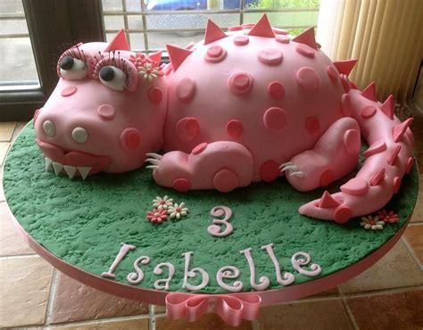 pink dinosaur cake dinosaur birthday party pinterest