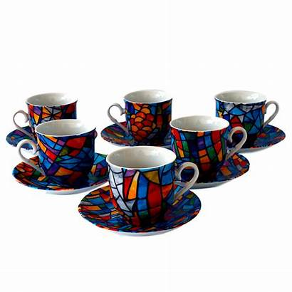 Cups Coffee Espresso Cup Familia Sagrada Sets