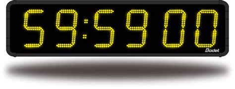 horloge sur pc bureau gratuit bodet horloges lumineuses de grandes dimensions