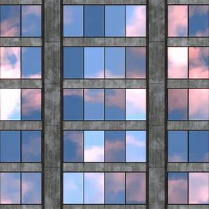 Office Building Seamless Texture Tile — Stock Photo ...