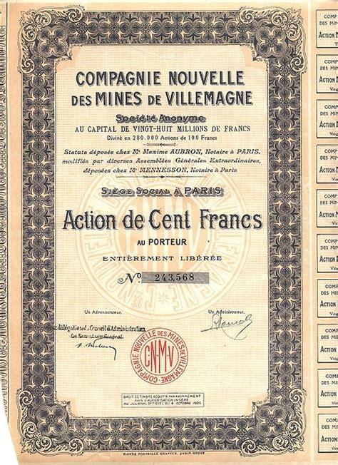 Compagnie Nouvelle De Navigation Compagnie Nouvelle Des Mines De Villemagne Historische