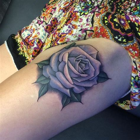 rose thigh tattoo flowers tattoo pinterest  tattoos thigh tattoos  tattoo ideas