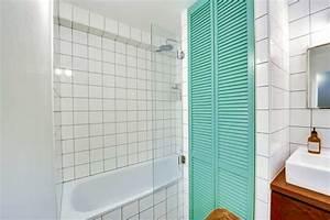 Carrelage Vert D Eau : fabulous salle de bains vert d eau with salle de bain couleur vert d eau ~ Melissatoandfro.com Idées de Décoration