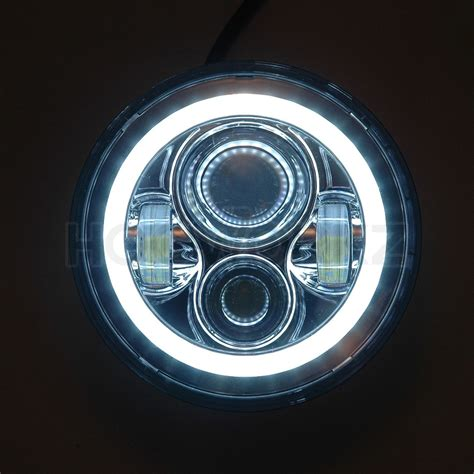 5 3 4 daymaker replacement blackout 5 3 4 quot led halomaker harley daymaker replacement