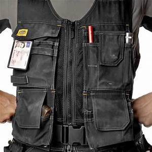 Snickers Workwear 4294 Snickers Flexi Toolvest (Black)
