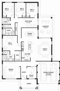 bedroom bath house plans under square feet with small 4 With small house plans 4 bedrooms