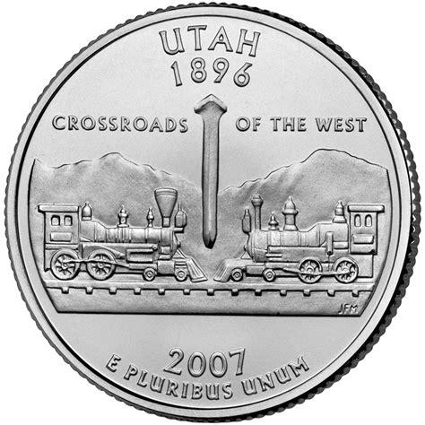 ¼ Dollar Quarter Utah Cupronickel États Unis Numista
