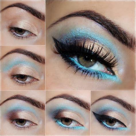 cat eye makeup tutorials  glowing  flattering eyes  modish
