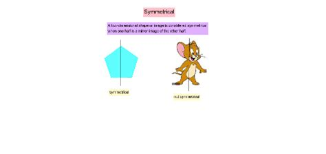 lines  symmetry   dimensional shapes  images