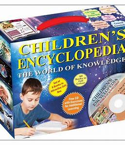 CHILDREN'S ENCYCLOPEDIA - THE WORLD OF KNOWLEDGE: Buy ...