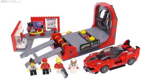 Lego speed champions ferrari 488 gt3 scuderia corsa 75886. LEGO Speed Champions Ferrari FXX-K & Development Center ...