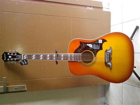 Harga Gitar Epiphone Dove Pro harga gitar akustik termurah harga 11