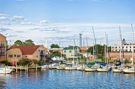 carolina nc towns washington north america waterfront downtown eastern travelhymns