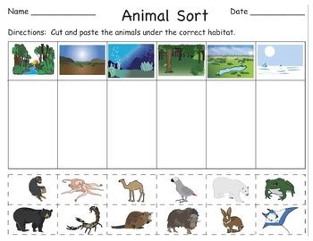 folding mats australia animals and their habitats cut and paste booklets