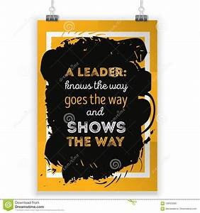 Leadership Moti... Rough Background Quotes