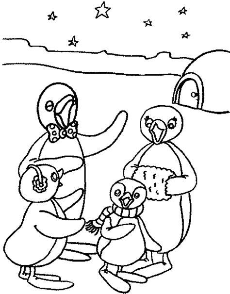 Pingu Kleurplaat by Kleurplaten En Zo 187 Kleurplaten Pingu