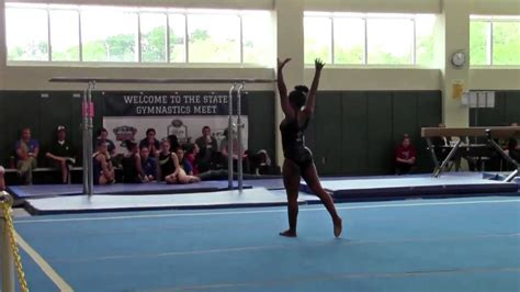 usag level 3 floor routine 2015 2015 lhsaa gymnastics chionships floor routine