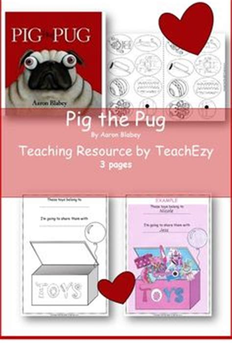 pig  pug teaching notes activities science