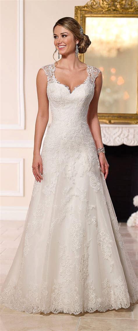 Stella York A Line Lace Wedding Dress 2016 Wedding