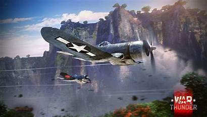 Corsair F4u Vought Flight Race Battle Wallpapers