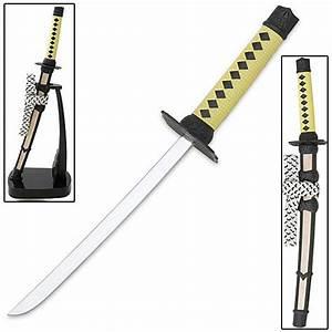Miniature samurai katana sword letter opener true swords for Miniature samurai sword letter opener