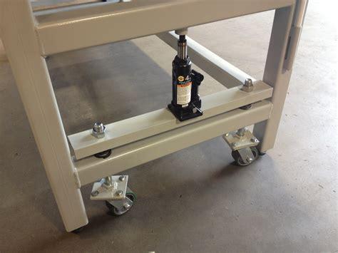 heavy duty workbench  retractable casters wheel  caster